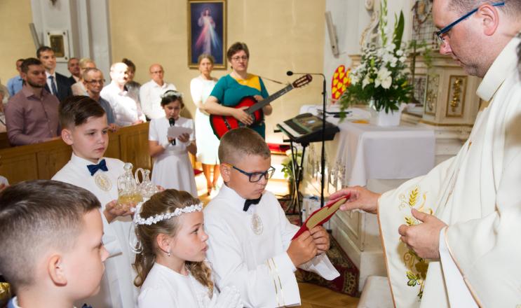 Zdjęcie Komunii Świętej